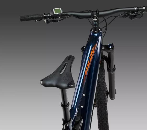 tige de selle télescopique sur le vélo électrique stilus