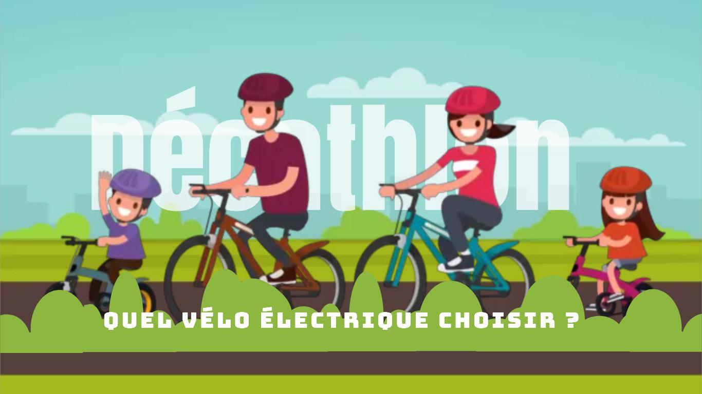 Vélo électrique Décathlon : quel modèle choisir ? Guide 2021