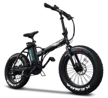 Voici une photo du vélo électrique pliant E-Mojo 500W Lynx PRO Fat Tire.