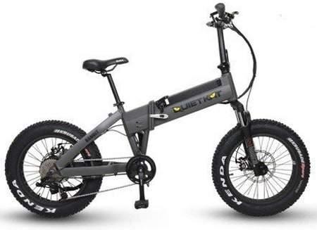 Voici une photo du vélo électrique pliant QuietKat 750 Bandit.