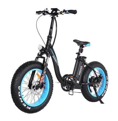 Voici une photo du vélo électrique pliant AddMotor 500W Motan M-140 Fat Tire.