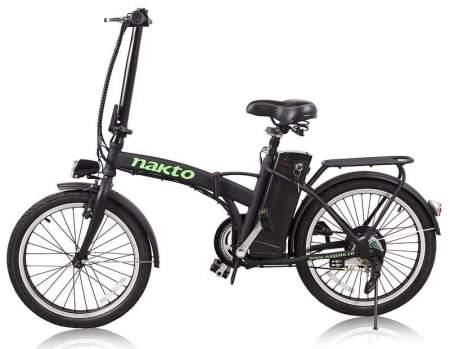 Voici une photo du vélo électrique pliant Nakto 250W Fashion.