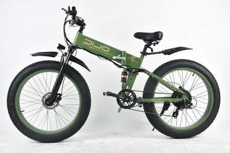 Voici une photo du vélo électrique pliant Olic 500W TMB-26 Tank Mountain.