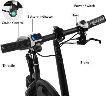 Test du vélo électrique pliant Bestkucky