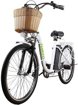 Vélo électrique NAKTO City-Electric à 6 vitesses