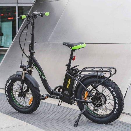 Voici une photo du vélo pliant électrique Addmotor MOTAN M-140 P7 750W Step-Thru.