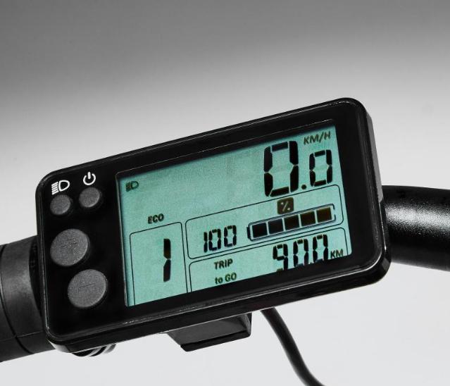 écran lcd pour vélo électrique riverside 500