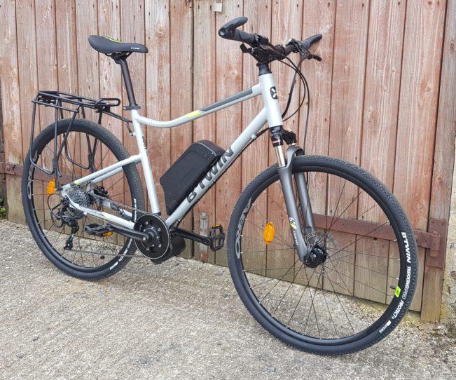 vélo électrique bricolage btwin riverside 900