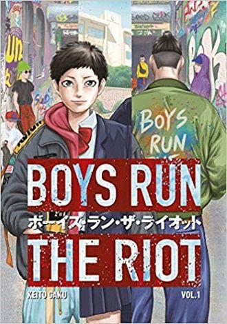 Couverture de Boys Run the Riot 1 - Keito Gaku